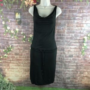 Banana Republic Women's Black Midi Dress Size XS